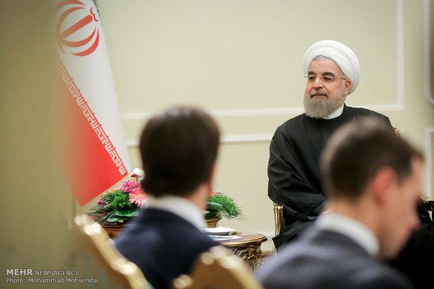 روحاني: ايران تولي اهمية قصوى لاستقرار لبنان وتطوير العلاقات الثنائية