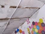 سقف لرزان مدارس غیرمقاوم بر سر دانش آموزان/خطر تهدید می کند