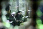 رئیس قوه قضاییه با آرمانهای امام راحل(ره)تجدید میثاق کرد