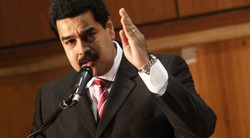 Venezuelan president repudiates opposition hate campaign
