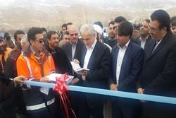 افتتاح طرح عمرانی در جاجرم