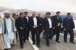 پروژه احداث و آسفالت محور جوشقان-پشت بام –دوبرجه افتتاح شد