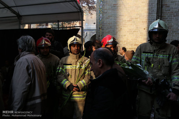 Commemoration ceremony of martyred firefighters