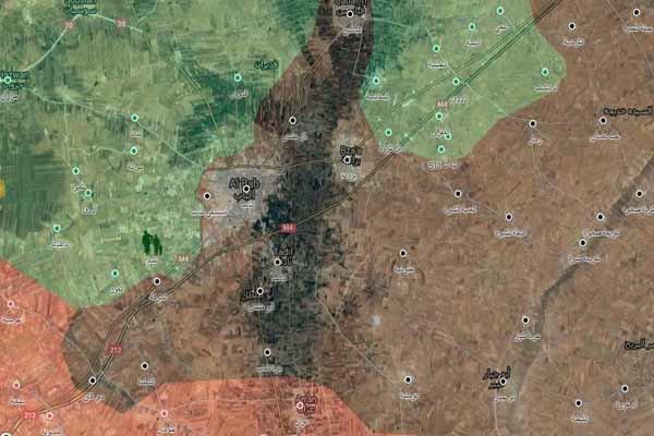پیشروی های برق آسای ارتش سوریه
