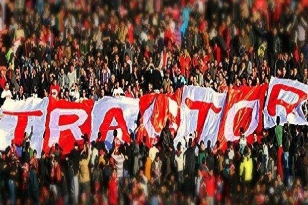 خداحافظی محمد نادری بازیکن تراکتورسازی از هواداران