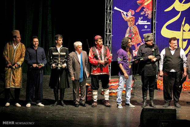 Sorna of Union Music Fest. concluded in Shiraz