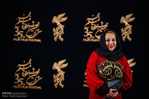 Celebrities on Fajr Film Festival's red carpet