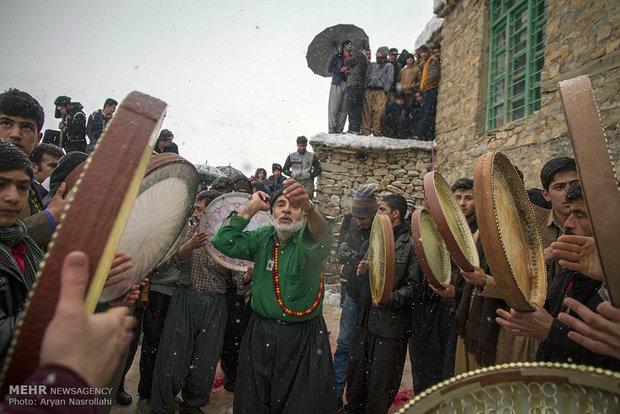 """مراسم """"بير شاليار"""" تقاليد وعادات كردية"""