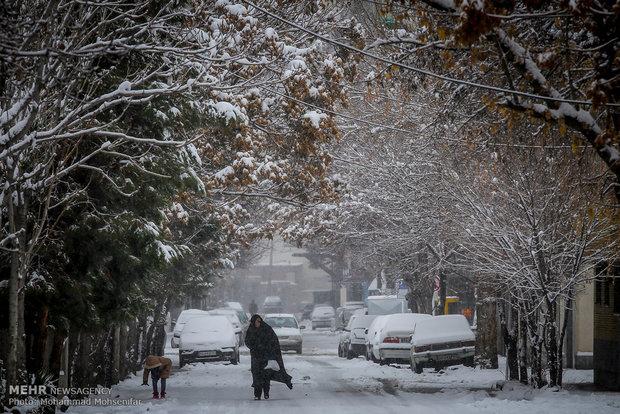Mashhad under snow