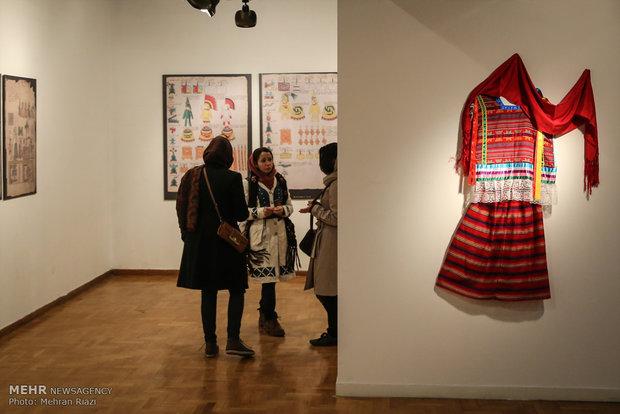 گشایش بخش مفاخر و بین الملل جشنواره هنرهای تجسمی فجر