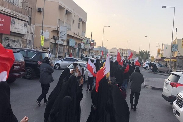 مظاهرات في البحرين