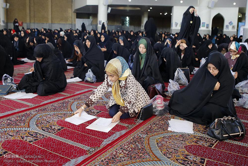مسابقه کتاب خوانی نماز اوقاف استان قم