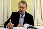 رئیس مجلس درگذشت فرزند احمد توکلی را تسلیت گفت