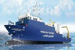 """تعويم أول سفينة ايرانية لأبحاث علوم المحيطات تحت عنوان """"مسبار الخليج الفارسي"""""""