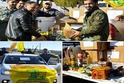 هدية السيد حسن نصر الله إلى مقاتلي النجباء على جبهة حلب