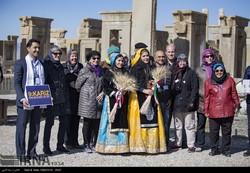 Intl. tour guides visit Persepolis