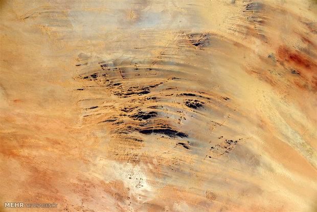تصاویری از فضا در یک ماه گذشته