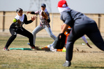 İran Kadın Milli Softbol Takımı'nın antremanı