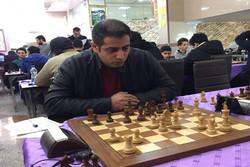 صعود استاد بزرگ ایران به صدر جدول مسابقات شطرنج «قائم کاپ»