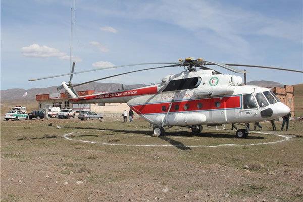 پوشش کامل امداد هوایی در کشور نیازمند ۴۵ بالگرد است