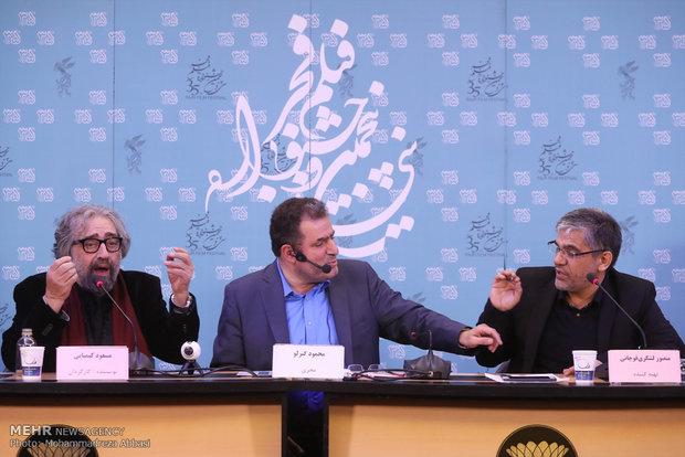 فیلم درگیری در نشست خبری مسعود کیمیایی