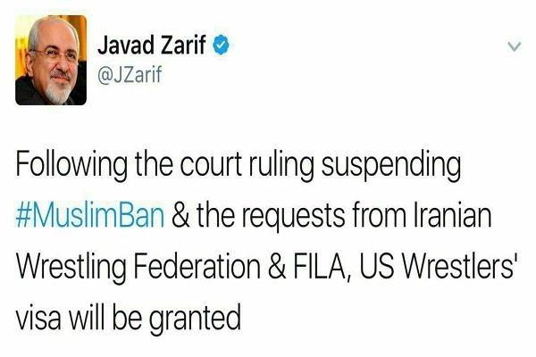 Zarif'ten vize açıklaması