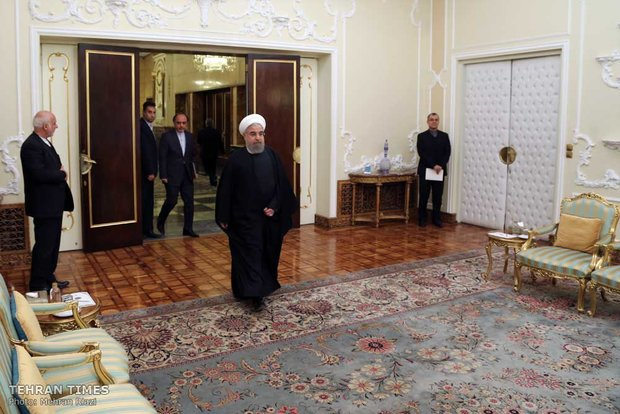 Portugal, Brazil and Kyrgyzstan ambassadors submit credentials to Rouhani