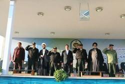 صبحگاه مشترک نیروهای نظامی و انتظامی شرق استان تهران برگزار شد