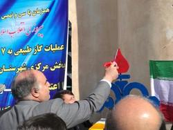 طرح گاز رسانی به ۷ روستای  شهرستان دالاهو افتتاح شد