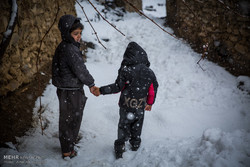 تراكم الثلوج على القرى النائمة في كردستان/صور