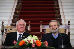 دیدار رئیس مجلس ملی بلاروس با رئیس مجلس