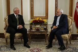 دیدار ظریف با رئیس شورای مجلس ملی جمهوری بلاروس