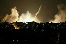 تجاوز مجدد جنگنده های اسرائیلی به جنوب نوار غزه