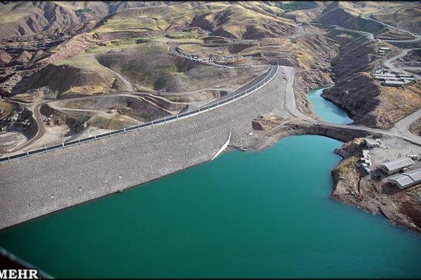 تست مخزن انتقال آب سد طالقان به هشتگرد در حال انجام است