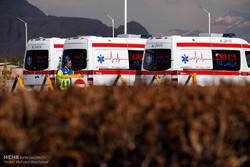 پوشش بازی ایران و چین با ۲۴ آمبولانس