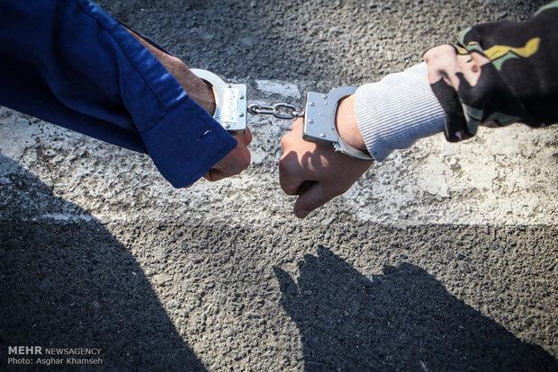 دستگیری سارق لوازم داخل و قطعات خودرو با ۱۶فقره سرقت در ایلام