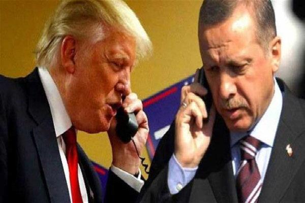 توافق ترامپ و اردوغان بر سر طرح خروج نیروهای آمریکا از سوریه