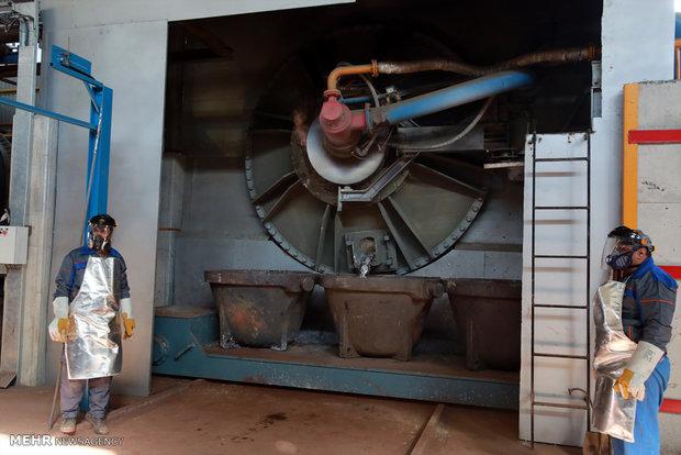 افتتاح فاز نخست مجتمع صنعتی معدنی فجر