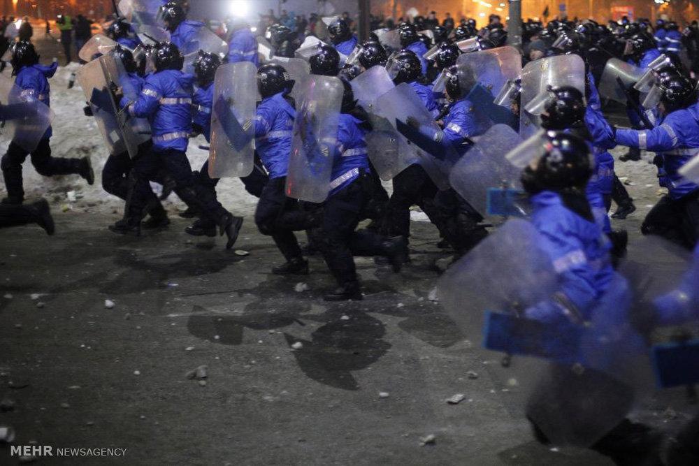 تظاهرات گسترده خیابانی در رومانی