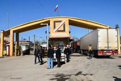 Monthly goods transit via Astara land border up 22.7%