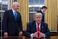 ترامپ و مایک پنس
