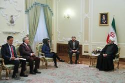 دیدار وزاری خارجه و نفت ونزوئلا با رئیس جمهور