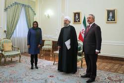 Rouhani, Venezuelan ministers meet in Tehran