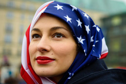 Non-Muslim women in solidarity with Muslims on World Hijab Day