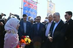 ۵۷ پروژهعمرانی و خدماتی در شهرستان فاروج افتتاح شد