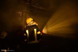 آتش سوزی یک ساختمان تجاری در کابل