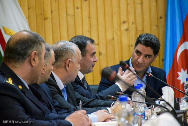 Joint meeting of Iran, Azerbaijan customs