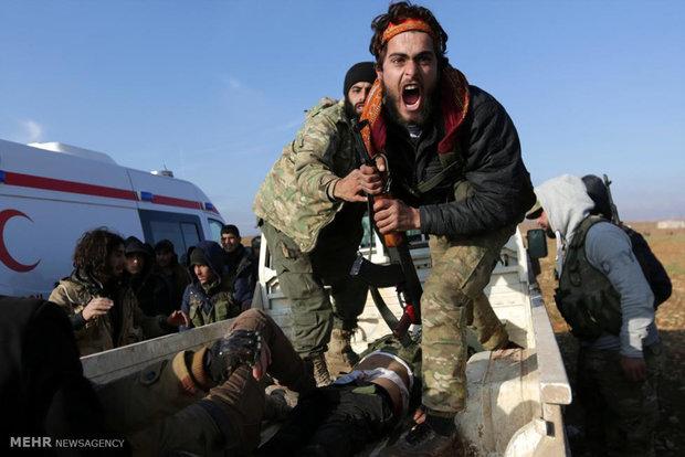 """""""داعش"""" ترتكب جريمة في ريف حلب الشرقي لإعاقة تقدم الجيش السوري"""