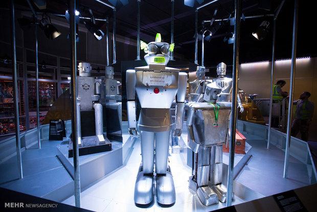 نمایشگاه ربات ها در لندن