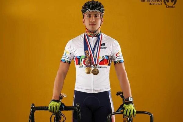 دوچرخه سواری پیست محمد دانشور